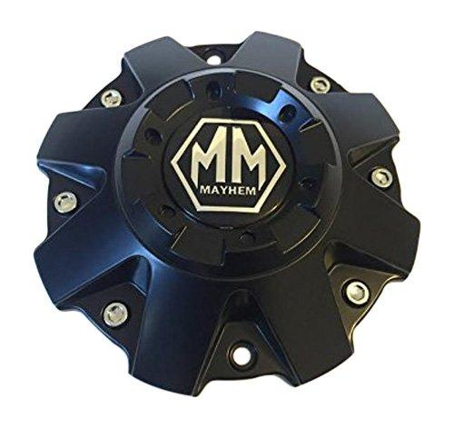 Mayhem Wheels C108010C01 C806803-2CAP 806804CB7 C108010MB01 Matte Black Center Cap - The Center Cap Store