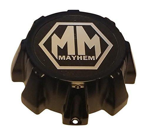 Mayhem Wheels C10802005BMB1 Black Wheel Center Cap - The Center Cap Store
