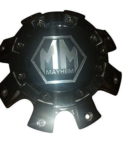 Mayhem Wheels C108101B01-F 81312028F-2 Black Wheel Center Cap - The Center Cap Store