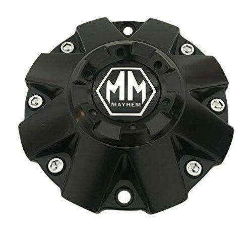 Mayhem Wheels C806805-1 C108015-16B01 C806806 Matte Black Center Cap - The Center Cap Store