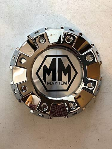 Mayhem Wheels Monstir 8101 Dually C108101C02-F 813120825F-1 Chrome Wheel Center Cap - The Center Cap Store