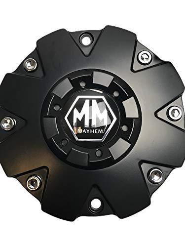 Mayhem Wheels Warrior 8015 C108015MB 806808CB7 Matte Black Center Cap - The Center Cap Store