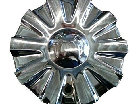 Mazzi 355 Spoon C10355-CAP C-208 SJ708-28 Chrome Wheel Center Cap - The Center Cap Store