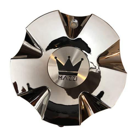 Mazzi Edge Wheels 337 C10337C-CAP C10D37C-CAP Chrome Center Cap - The Center Cap Store