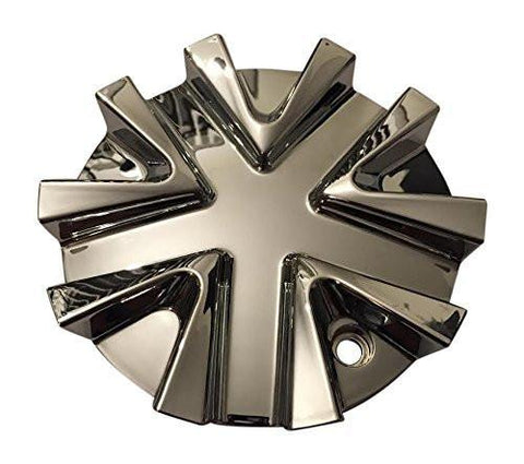 Mega Wheels 51611880-CAP HZJT06369 Chrome Wheel Center Cap - The Center Cap Store