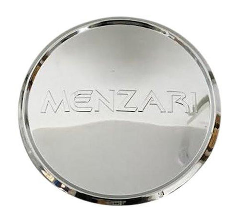 Menzari Wheels Z08 VIM Z09 ABSOLUTE Z10 NOIRE CD002-CAP LG0812-44 Chrome Wheel Center Cap - The Center Cap Store