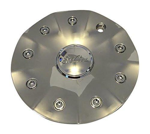 Milanni 331 90062295F-1 Ambrosia Chrome Wheel Rim Center Cap MILANNI LOGO - The Center Cap Store