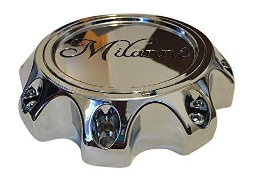 Milanni 446 Kool Whip C446-8S-CAP Chrome Wheel Center Cap - The Center Cap Store