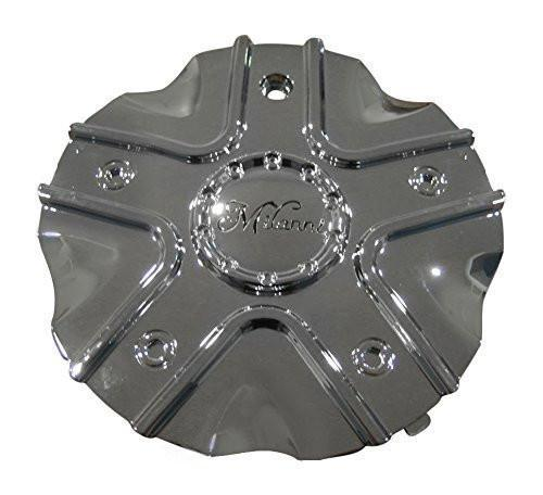 Milanni 458 Phoenix Chrome Wheel Rim Center Cap C458-CAP C458S-CAP LG0909-69 - The Center Cap Store