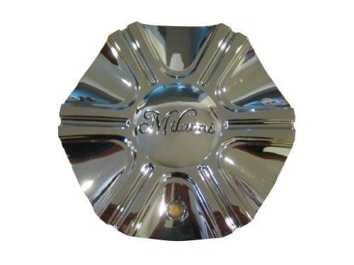 Milanni Stellar 452 Black Machined Wheel Center Cap V452-CAP LG0909-24 6 MIL3 - The Center Cap Store