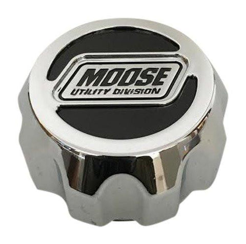 Moose Utility Division C-315-2 C387ZL C387-ZL Chrome Center Cap - The Center Cap Store