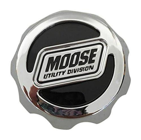 Moose Utility Division C387-Z LG1005-18 Chrome Wheel Center Cap - The Center Cap Store