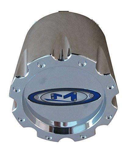 MOTO METAL 353K133-1 Chrome CENTER CAP Rear Dually Snap On - The Center Cap Store