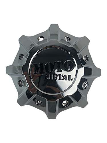 Moto Metal MO986 MO9988 T142L215-H48-C1 Chrome Center Cap for +0 to Negative Offsets - The Center Cap Store