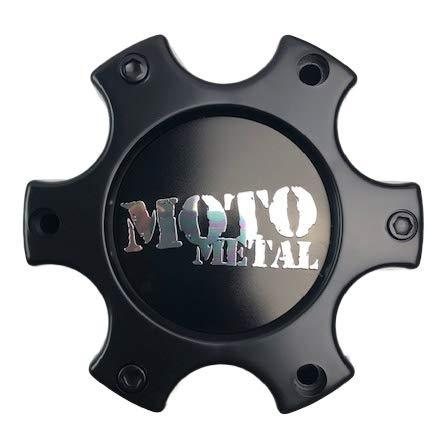 Moto Metal Wheels 306B136-6H 306B139-6H-YB003 Matte Black Center Cap - The Center Cap Store