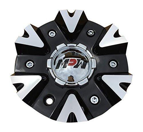 MPW 208 C10MP20801B MCD8271YA02 MCD8271YL01 Black and Machined Center Cap - The Center Cap Store