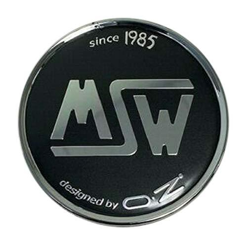 MSW by OZ C-PCF-82 Custom Wheel Black Center Cap - The Center Cap Store