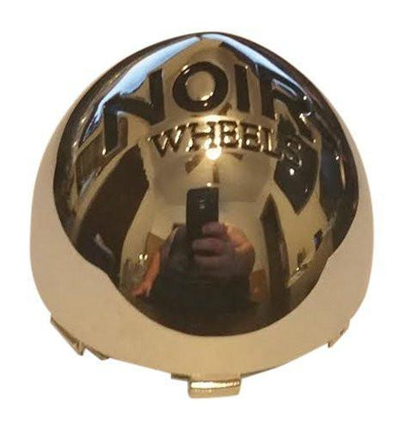 Noir Wheels C606 Chrome Wheel Snap In Center Cap - The Center Cap Store