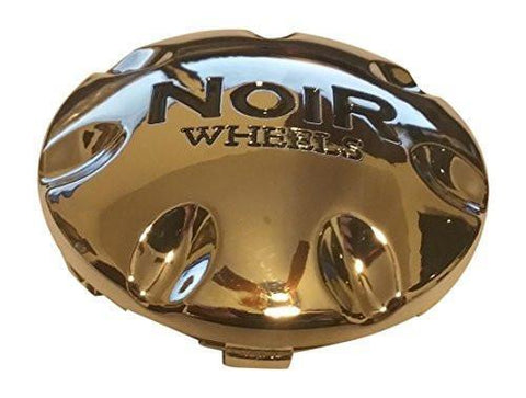 Noir Wheels C706 Chrome Wheel Snap In Center Cap - The Center Cap Store