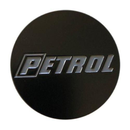 Petrol Wheels SPCG18-P PSCG18PDBK1 Matte Black Center Cap 60MM CCPETMB - The Center Cap Store