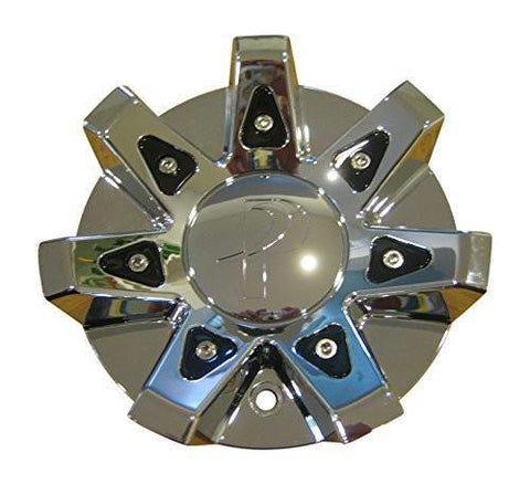 Phino Chrome Wheel Rim Center Cap Centercap CSPW68-1P SJ1001-21 - The Center Cap Store