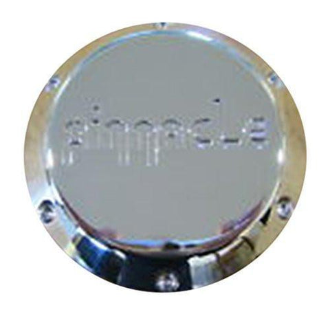 Pinnacle Chrome Center Cap 118K68 P48 Poison Wheel - The Center Cap Store