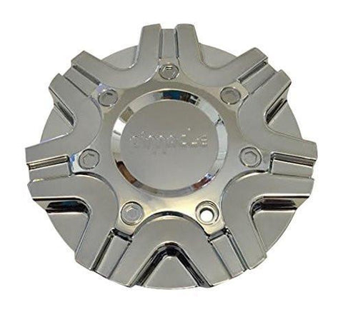Pinnacle Elite W-572 Chrome Wheel Center Cap - The Center Cap Store