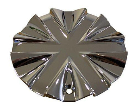 Pinnacle P11 Mantis Chrome Wheel Rim Center Cap H13800B 2000.10 - The Center Cap Store