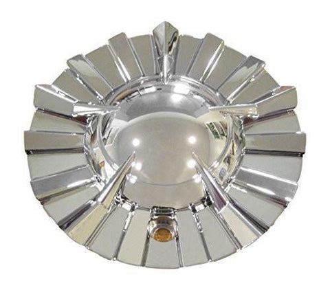Pinnacle P23 Gitana Chrome Wheel Rim Center Cap Centercap 420S158 - The Center Cap Store