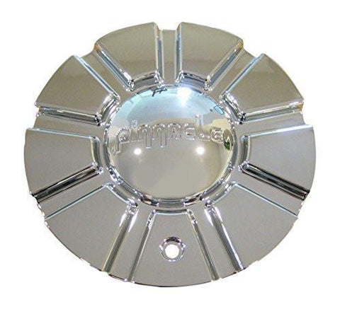 Pinnacle P37 Turbo Chrome Wheel Rim Center Cap Centercap 400-2085-2 - The Center Cap Store