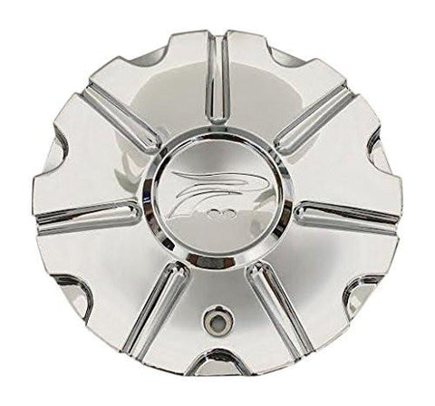 Platinum Wheels 71222090F-1 A89-9413C 89-9413 Chrome Wheel Center Cap - The Center Cap Store
