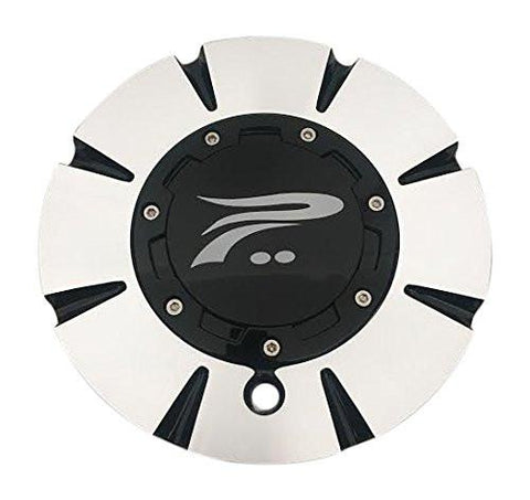 Platinum Wheels 82-9299B Machined Wheel Center Cap - The Center Cap Store