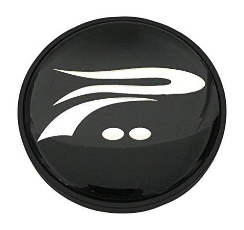 Platinum Wheels 89-9417B 55101565F-4 Black Wheel Center Cap - The Center Cap Store