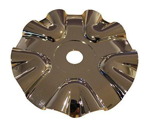 Polo 711 Brawler Chrome Wheel Rim Snap In Center Cap 710A Dia: 5-7/8 - The Center Cap Store