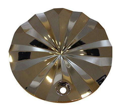 "Polo Ferretti Chrome Wheel Rim Center Cap T820-17"" 18"" Tectran Corporation - The Center Cap Store"