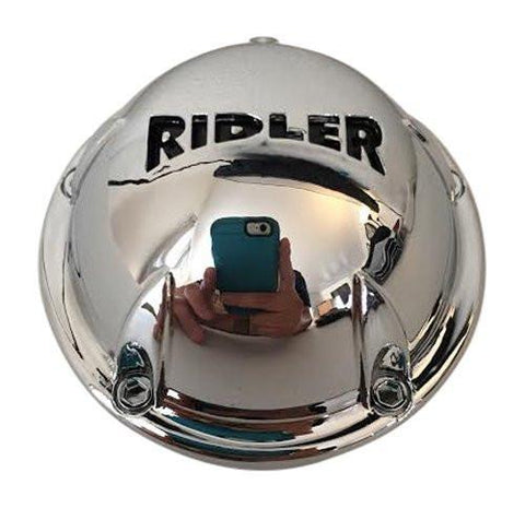 Ridler Wheels C10645C01 546901C C546901CAP Chrome Wheel Center Cap 17 Inch Wheels Only - The Center Cap Store
