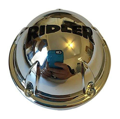 Ridler Wheels C10645C02 C546902CAP Chrome Wheel Center Cap - The Center Cap Store