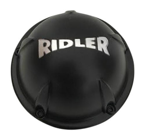 Ridler Wheels C10695MB 57492085F-4 Black Wheel Center Cap - The Center Cap Store