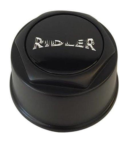 Ridler Wheels C569301CB7 C10675MB Black Center Cap - The Center Cap Store
