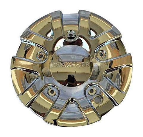Rock Starr 349 Solja 349-1 C-139 Chrome Wheel Center Cap - The Center Cap Store