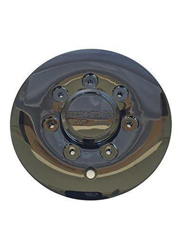 Rock Starr Alloy Wheel CAP515L185 515 Optimus Black Wheel Rim Center Cap - The Center Cap Store