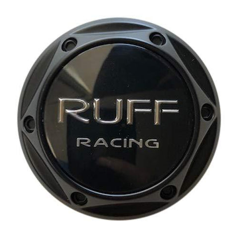 Ruff Racing 360 356 Wheels 889S01 889S01+MB-217 R6056FBB Black Center Cap - The Center Cap Store