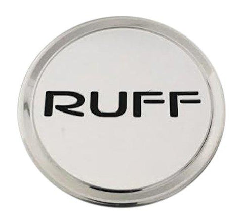 RUFF Racing 891C01 Chrome Wheel Center Cap - The Center Cap Store