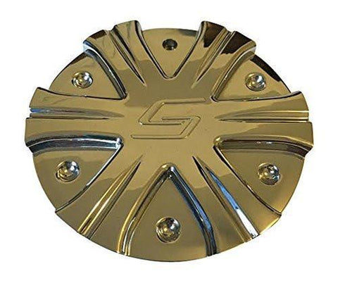 Sacchi 275 Wheel 275-CAP Chrome Wheel Center Cap - The Center Cap Store
