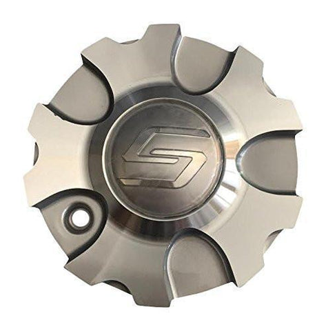 Sacchi S48 Silver Center Cap No Part Number - The Center Cap Store