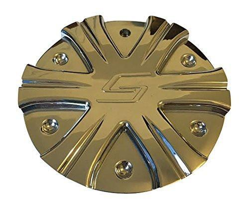 Sacchi Wheels 275 C10275-2 Chrome Wheel Center Cap - The Center Cap Store