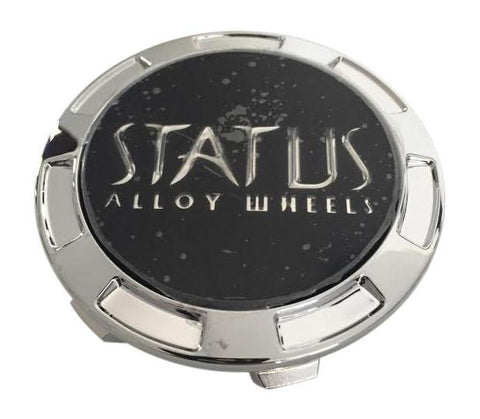 Status Alloy Wheels C-366 S1106-18 Snap In Chrome Center Cap - The Center Cap Store