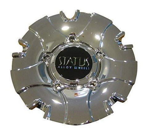 Status Alloy Wheels S811 Symbol Chrome Wheel Rim Center Cap C1039-3CAP-S811 - The Center Cap Store