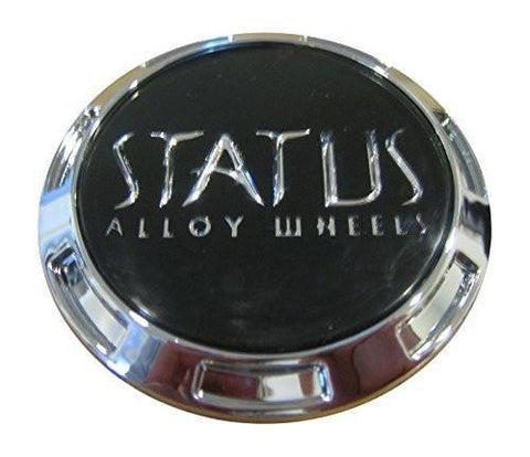 Status Alloy Wheels S816 Knight Snap In Center Cap C-352 C-352+MB-083 - The Center Cap Store