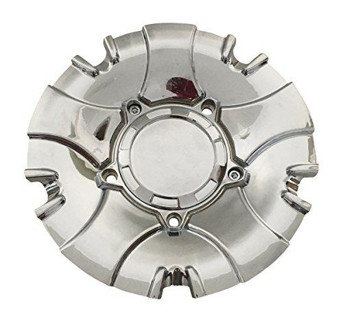 Status Wheels C1039-3CAP-S811 USED NO Logo Chrome Wheel Center Cap - The Center Cap Store